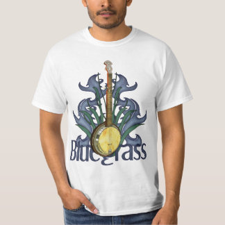 Diseño del banjo del Bluegrass Playera
