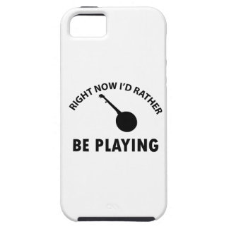 diseño del banjo iPhone 5 Case-Mate cárcasa