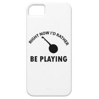 diseño del banjo iPhone 5 fundas