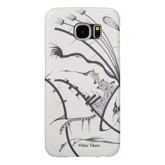 """Diseño del """"Bauhaus uno"""" de Victor Tilson Fundas Samsung Galaxy S6"""