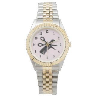Diseño del Beautician Reloj