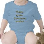 Diseño del bebé del Gumbo de LSU (azul) Trajes De Bebé