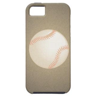 Diseño del béisbol del vintage. Modelo del deporte Funda Para iPhone 5 Tough