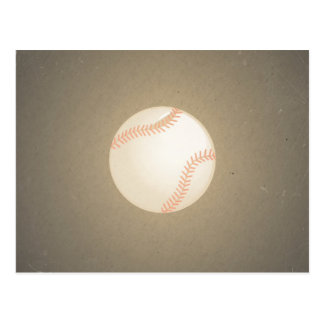 Diseño del béisbol del vintage. Modelo del deporte Tarjeta Postal