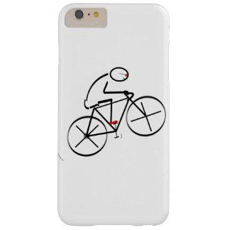 Diseño del Bicyclist de la diversión Funda Barely There iPhone 6 Plus