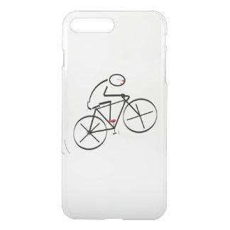 Diseño del Bicyclist de la diversión Fundas Para iPhone 7 Plus