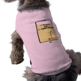 Diseño del bolso de la enfermera registradoa IV Playera Sin Mangas Para Perro
