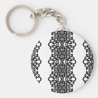 Diseño del bordado del cordón del llavero