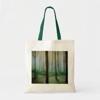 Diseño del bosque bolsa tela barata
