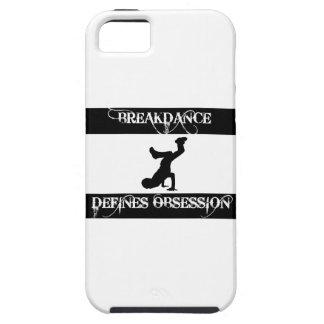 diseño del breakdance iPhone 5 cobertura
