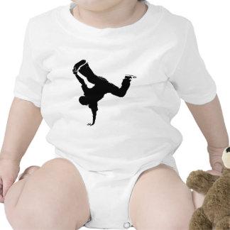 diseño del breakdancer trajes de bebé