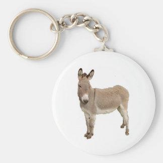 Diseño del burro llavero personalizado