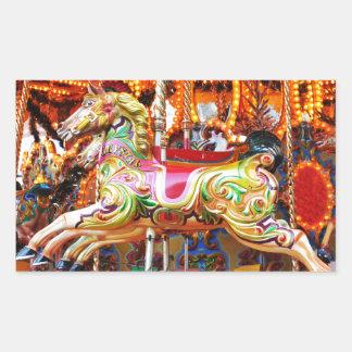 Diseño del caballo del carrusel