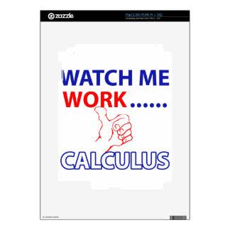Diseño del CÁLCULO Calcomanías Para El iPad 2