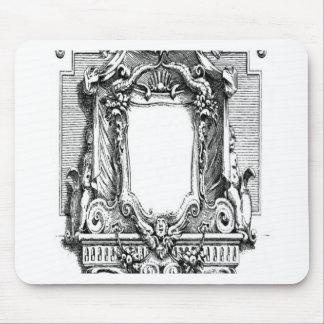 Diseño del cartouche del vintage