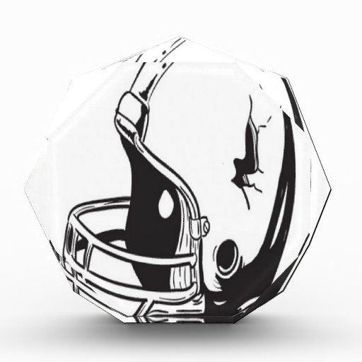 Diseño del casco de fútbol americano