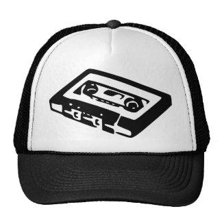 Diseño del casete de música gorra