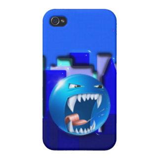 Diseño del caso del iPhone de Emoji iPhone 4 Funda