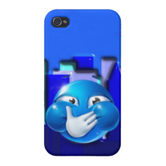 Diseño del caso del iPhone de Emoji iPhone 4 Coberturas