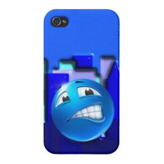 Diseño del caso del iPhone de Emoji iPhone 4 Carcasas