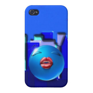 Diseño del caso del iPhone de Emoji iPhone 4 Carcasa