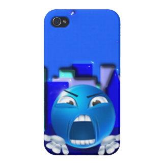 Diseño del caso del iPhone de Emoji iPhone 4 Protectores