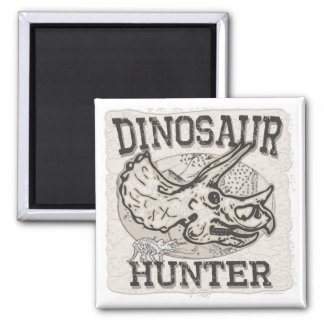 Diseño del cazador del dinosaurio por los estudios iman para frigorífico