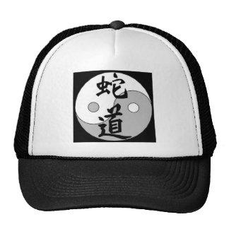 Diseño del chino de Yin Yang Gorras