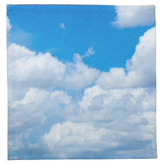 Diseño del cielo de los cielos del fondo de las servilleta de papel