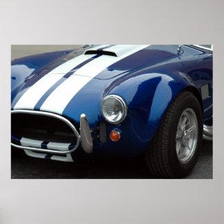 diseño del coche deportivo impresiones
