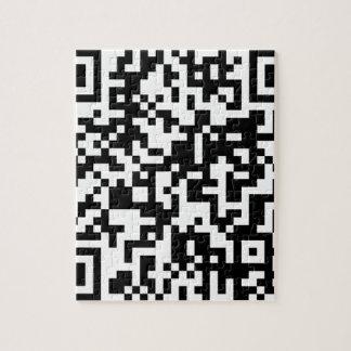 Diseño del código de QR Puzzle