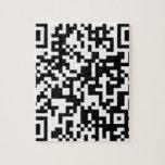 Diseño del código de QR Puzzle Con Fotos