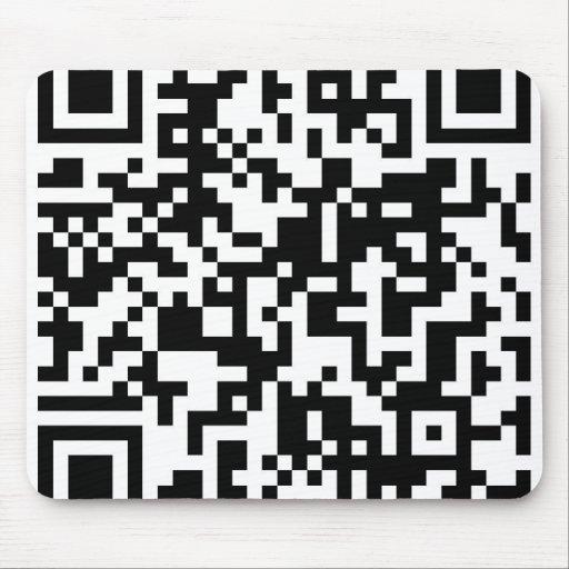 Diseño del código de QR Tapetes De Ratones