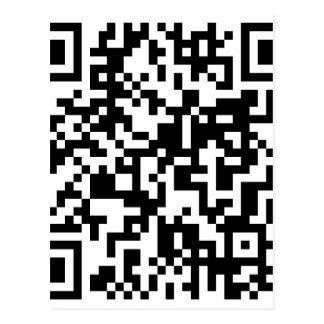 Diseño del código de QR Tarjetas Postales