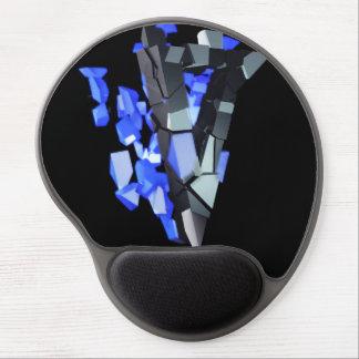 Diseño del cojín de ratón del gel alfombrillas de raton con gel