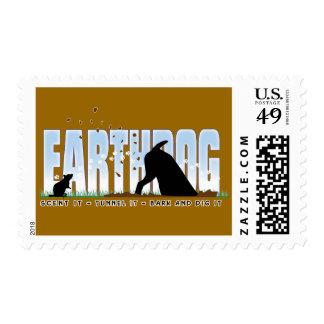 Diseño del color de Earthdog para el párroco y Sellos