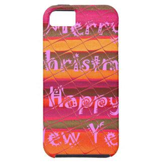 Diseño del color de la Feliz Año Nuevo de las iPhone 5 Carcasa
