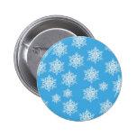 Diseño del copo de nieve pin