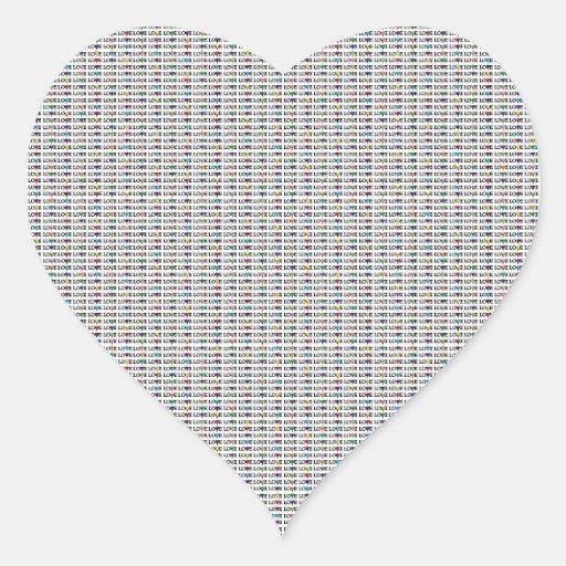 Diseño del corazón del amor pegatinas de corazon personalizadas