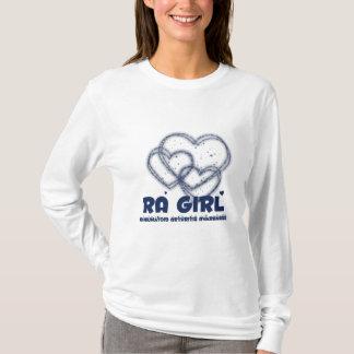 Diseño del corazón del chica del RA:: Artritis Playera