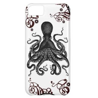 Diseño del cthulu del pulpo Kraken - de Steampunk Funda Para iPhone 5C
