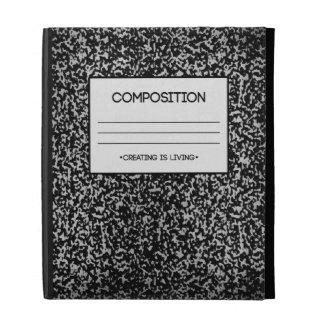 Diseño del cuaderno de la composición
