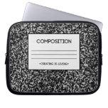 Diseño del cuaderno de la composición fundas portátiles