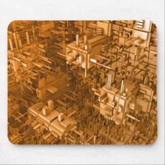 Diseño del cubo alfombrillas de ratón