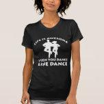 diseño del cuerpo de baile camiseta