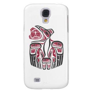 Diseño del cuervo del Haida Samsung Galaxy S4 Cover