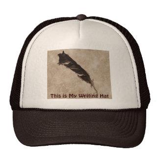 Diseño del cuervo del Pájaro-amante de la pluma de Gorro De Camionero