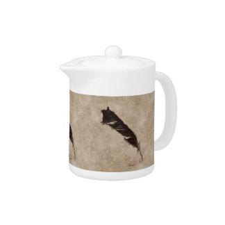 Diseño del cuervo del Pájaro-amante de la pluma de