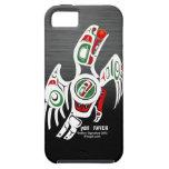 Diseño del cuervo del Tlingit iPhone 5 Protectores
