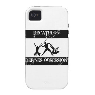 diseño del decathlon Case-Mate iPhone 4 funda